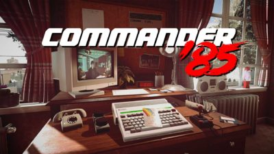 commander 85 cover