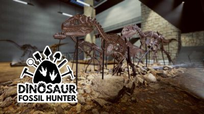 dinosaur fossil hunter museum knochen