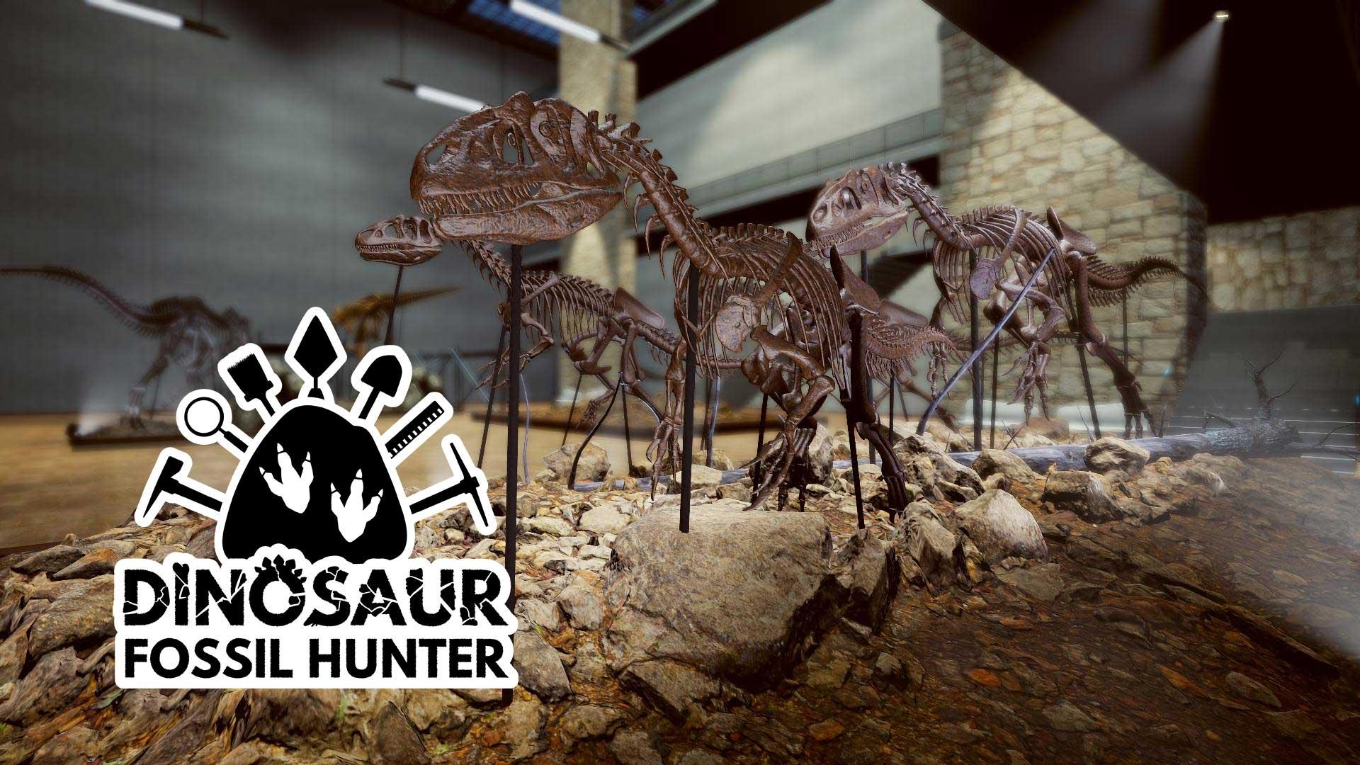 dinosaur fossil hunter museum knochen