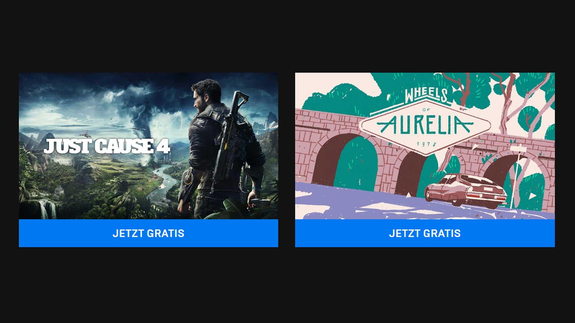 epic games just cause 4 gratis