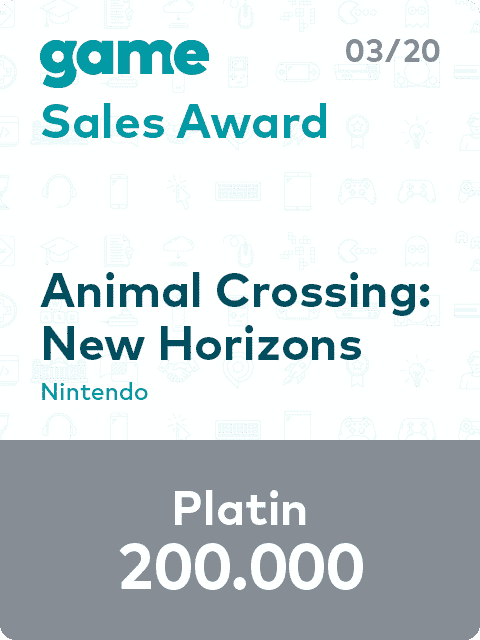 game Sales Award 20 03 Animal Crossing L