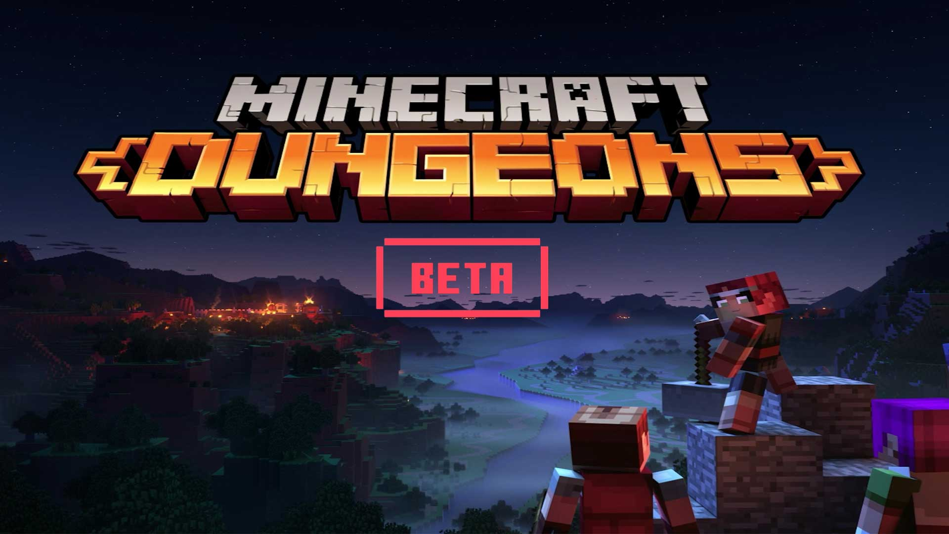 minecraft dungeons angespielt cover