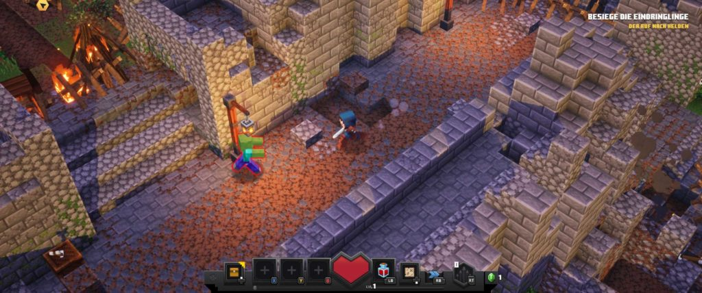 minecraft dungeons angespielt screen gameplay