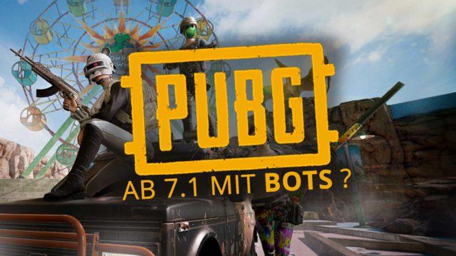 pubg update 7 1 bots