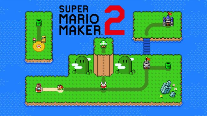 super mario maker 2 worlds