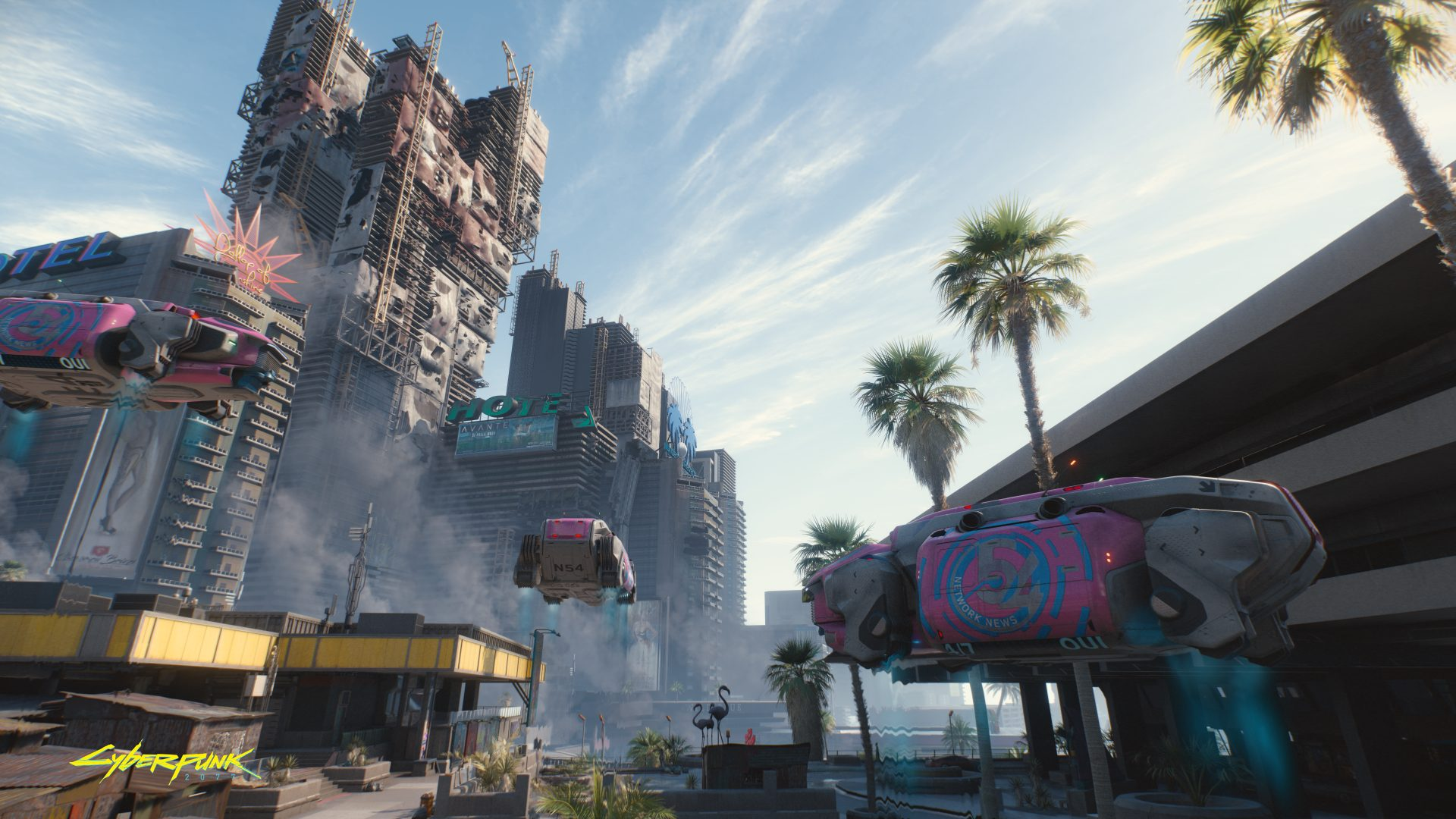 Cyberpunk2077 Hope you arent afraid of heights en