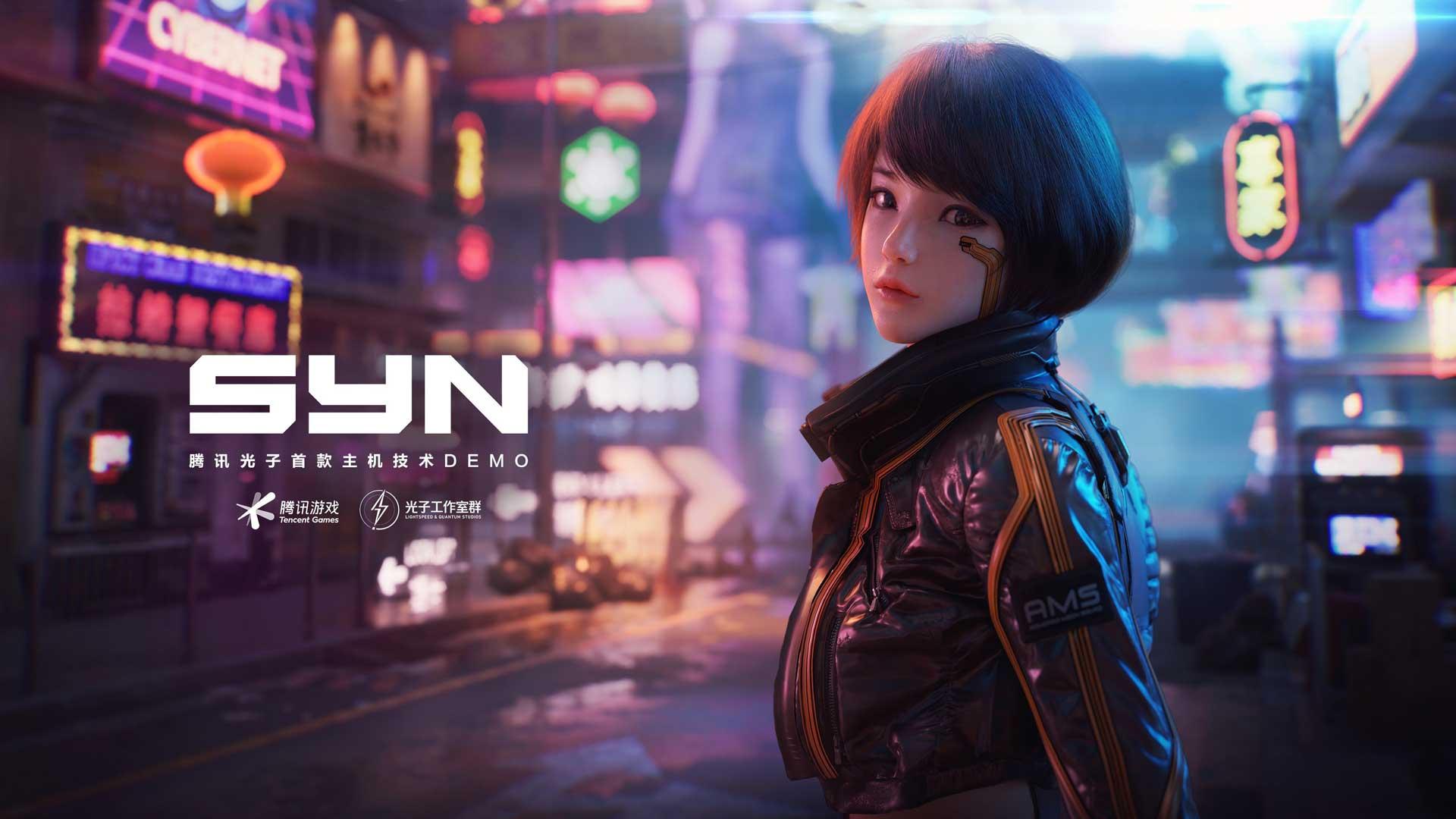 """""""SYN"""" ist ein neuer Cyberpunk Open-World FPS von Tencent!"""