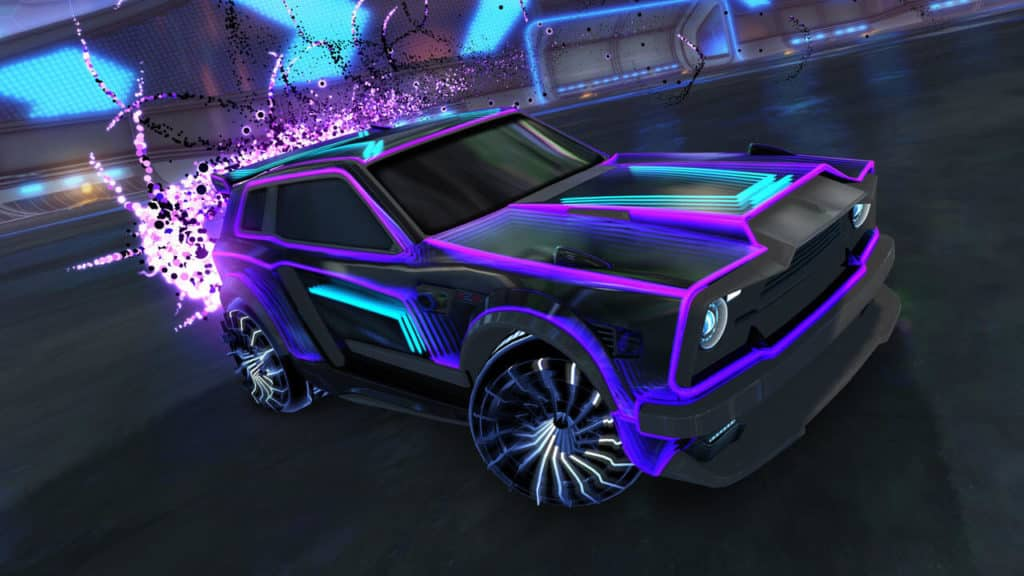 Hnutress Decal (Fennec), Cutter Wheels, Quasar Boost. Quelle: Psyonix