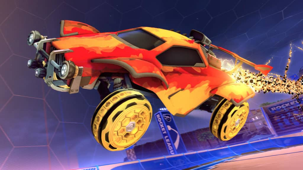 Smokescreen Decal, HNY Wheels, Quasar Boost. Quelle: Psyonix
