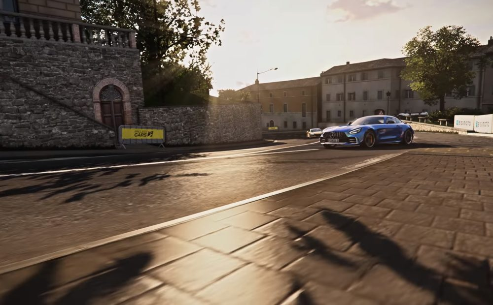 Project CARS 3 yt screen announce trailer