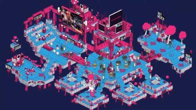 indie arena booth online concept babt