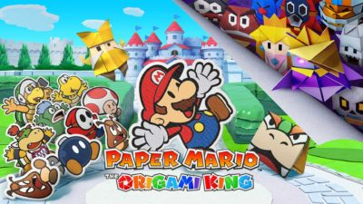 nintendo paper mario the origami king cover