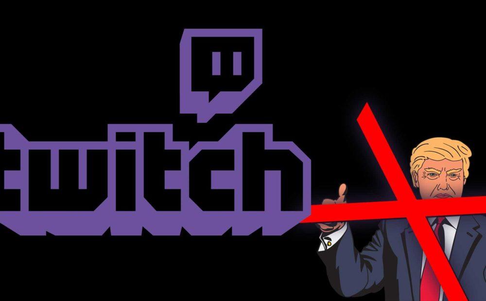 Der offizielle Twitch-Kanal von Donald Trump ist gebannt. Logo: Twitch