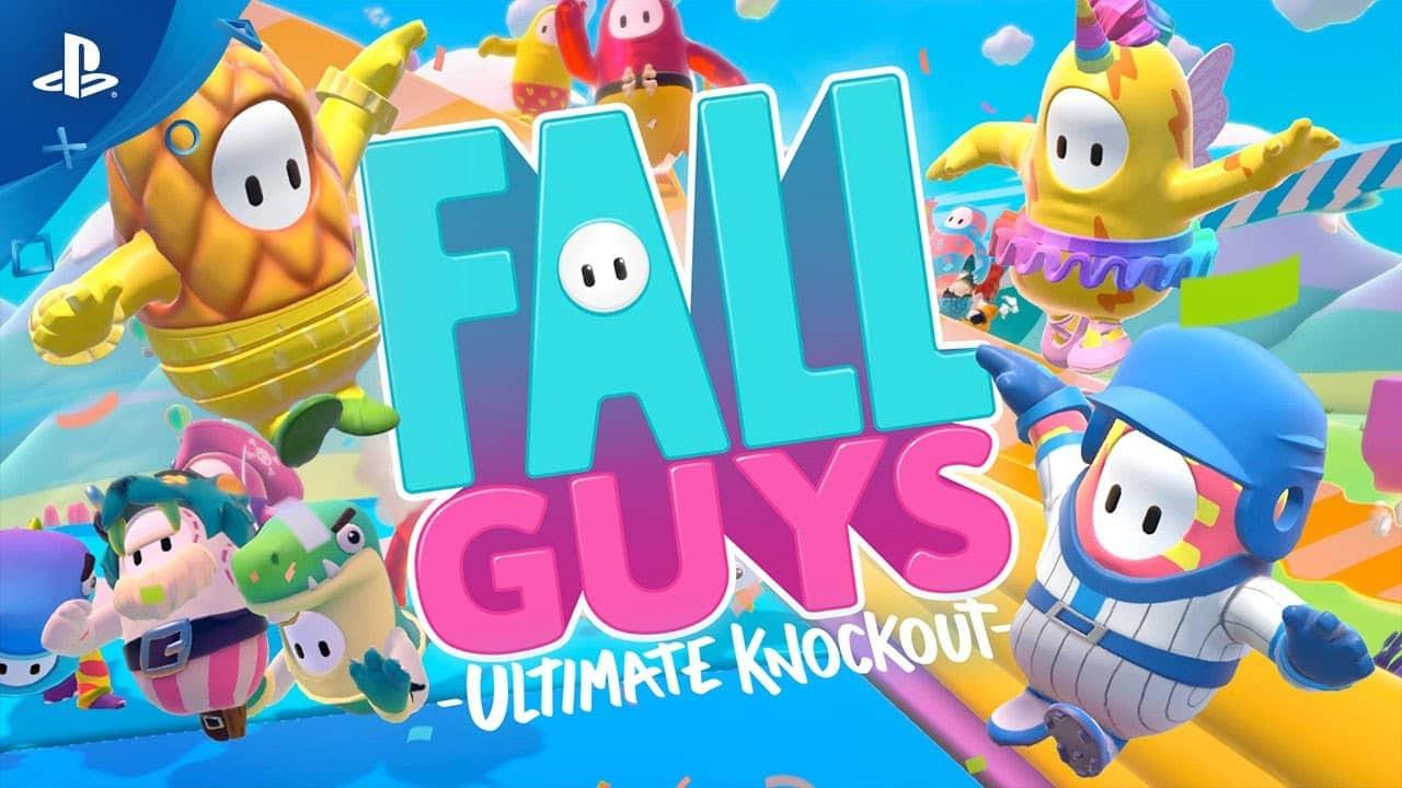 Fall Guys Gameplay Trailer PS4