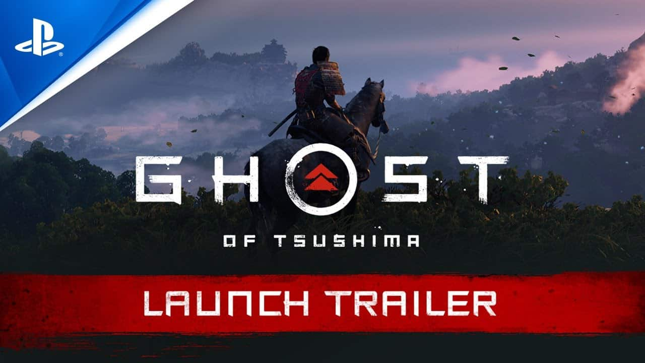 Ghost of Tsushima Launch Trailer PS4 deutsch
