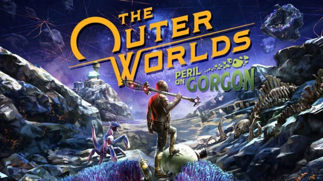 The Outer Worlds Peril On Gorgon Key Art babt