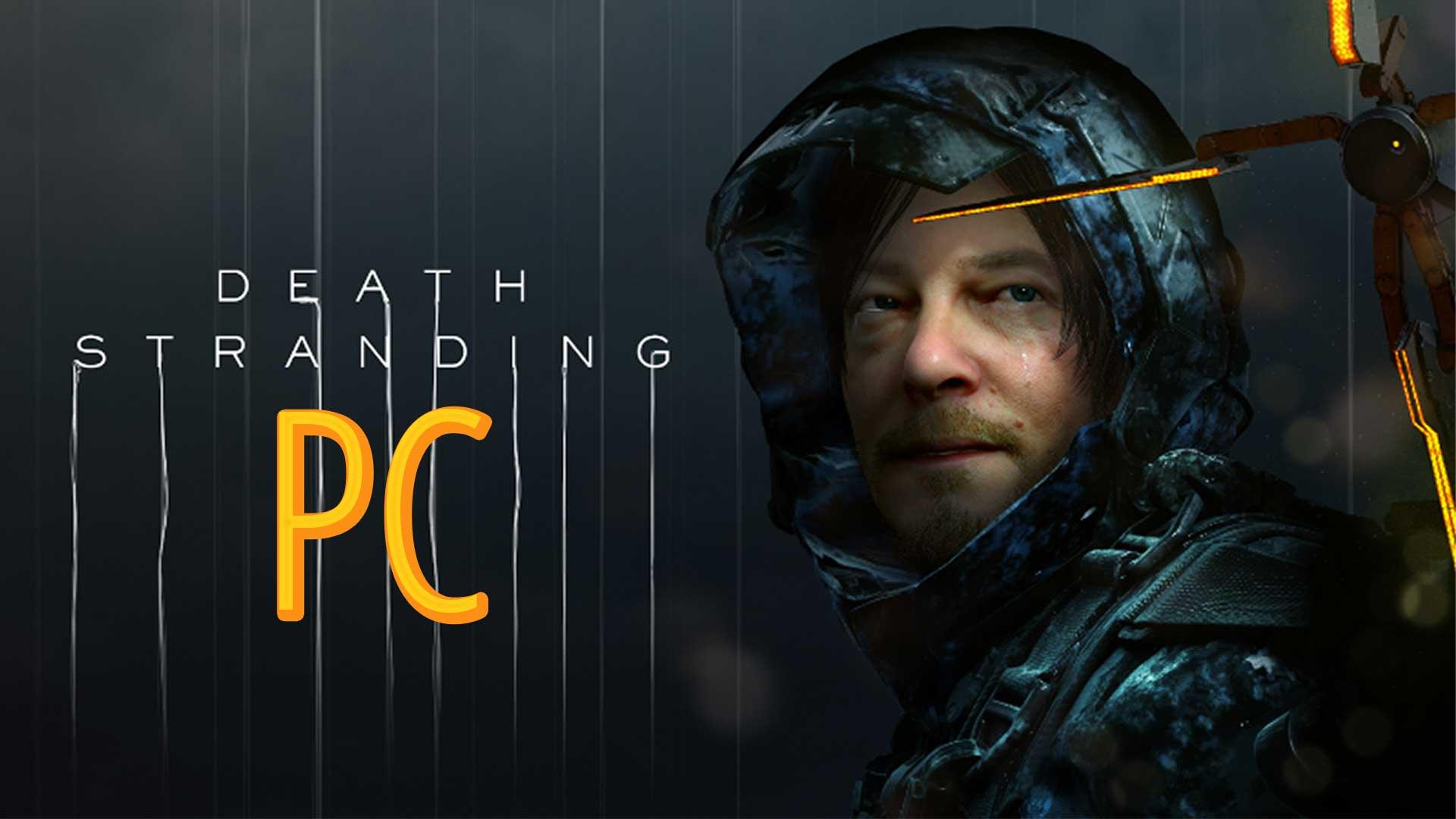 death stranding pc release cover