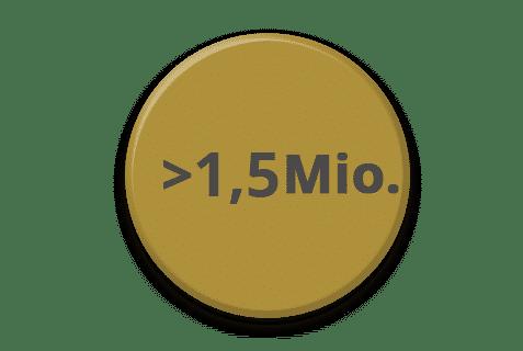 mediadaten graph 15 mio unique user