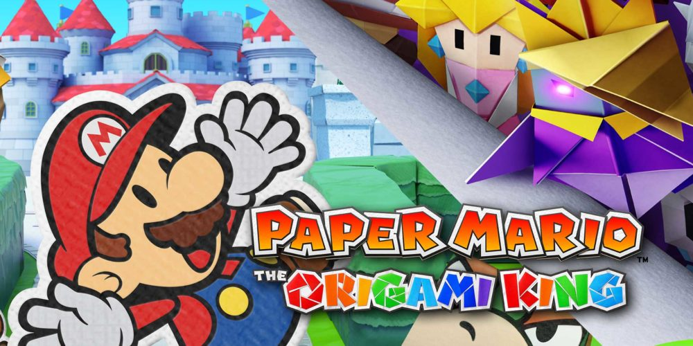 paper mario the origami king release cover