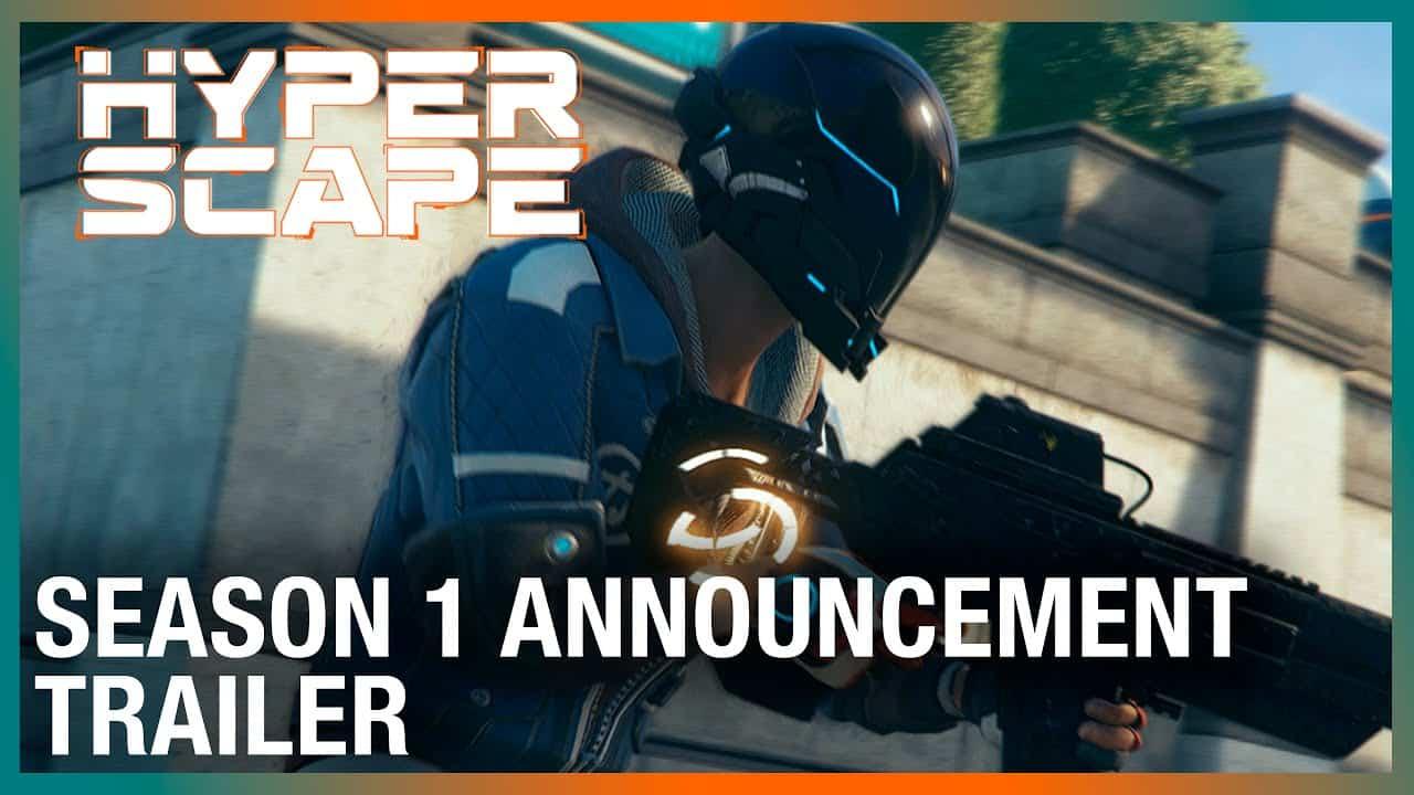 Hyper Scape Season 1 Announcement Trailer Ubisoft NA