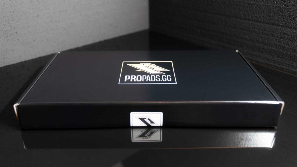 Das Propads.gg Design - Die Hülle von außen.