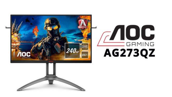 aoc agon AG273QZ hardwaretest