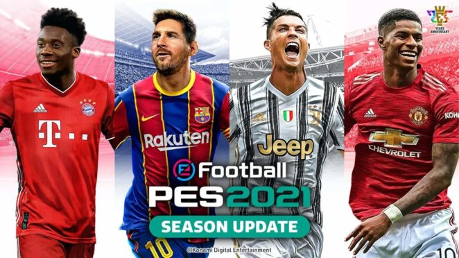 eFootball PES 2021 SEASON UPDATE cover