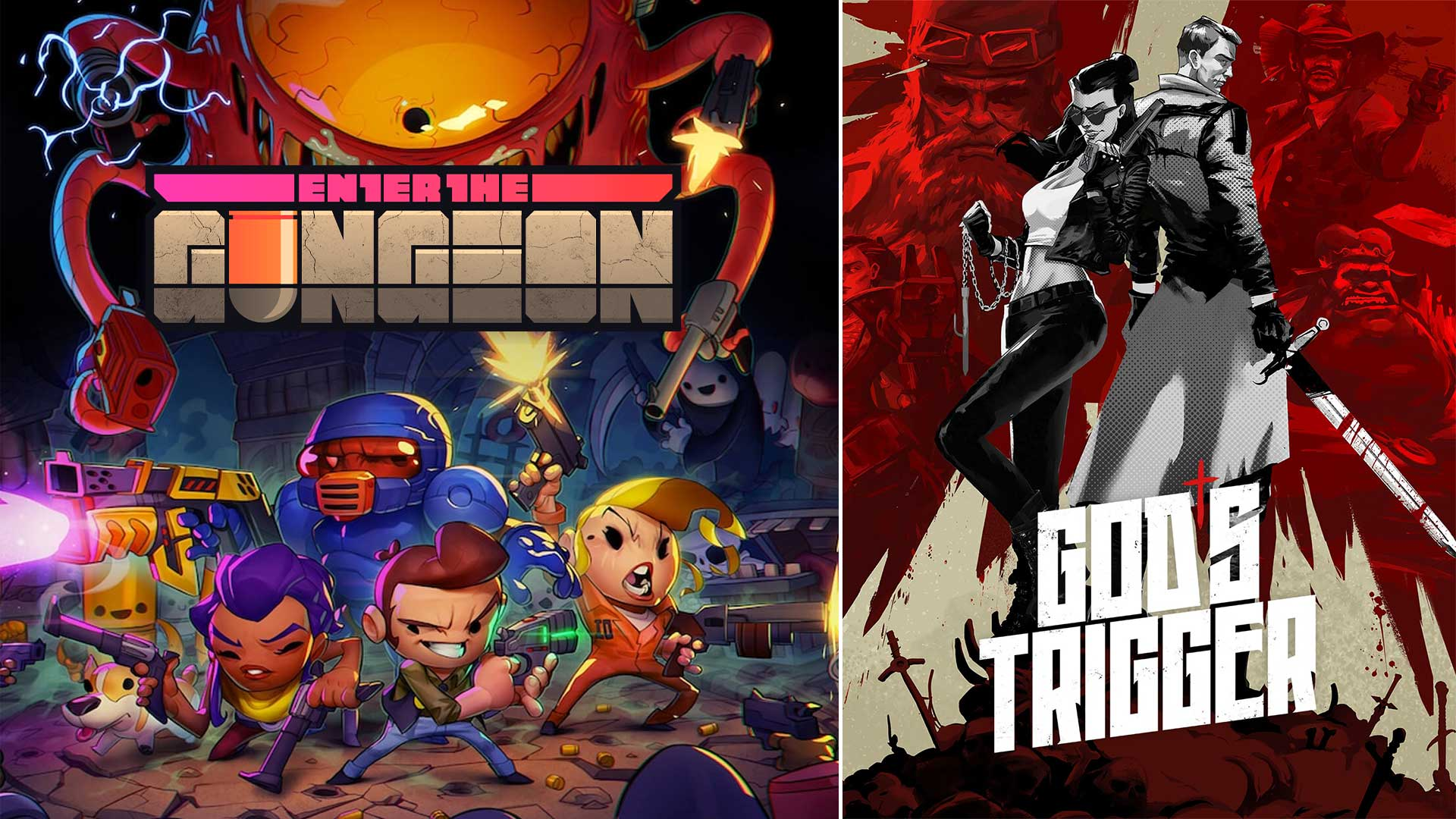 epic games free games collection gungeon gods trigger