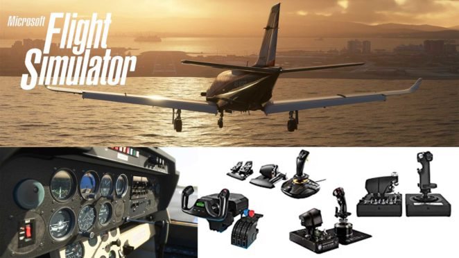 flight sim 2020 josticks