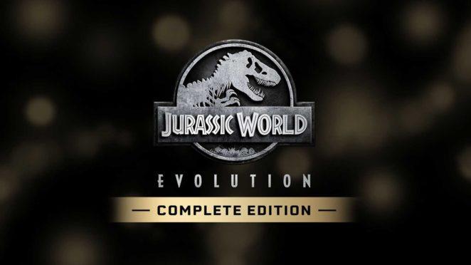 jurassic world evolution complete edition switch