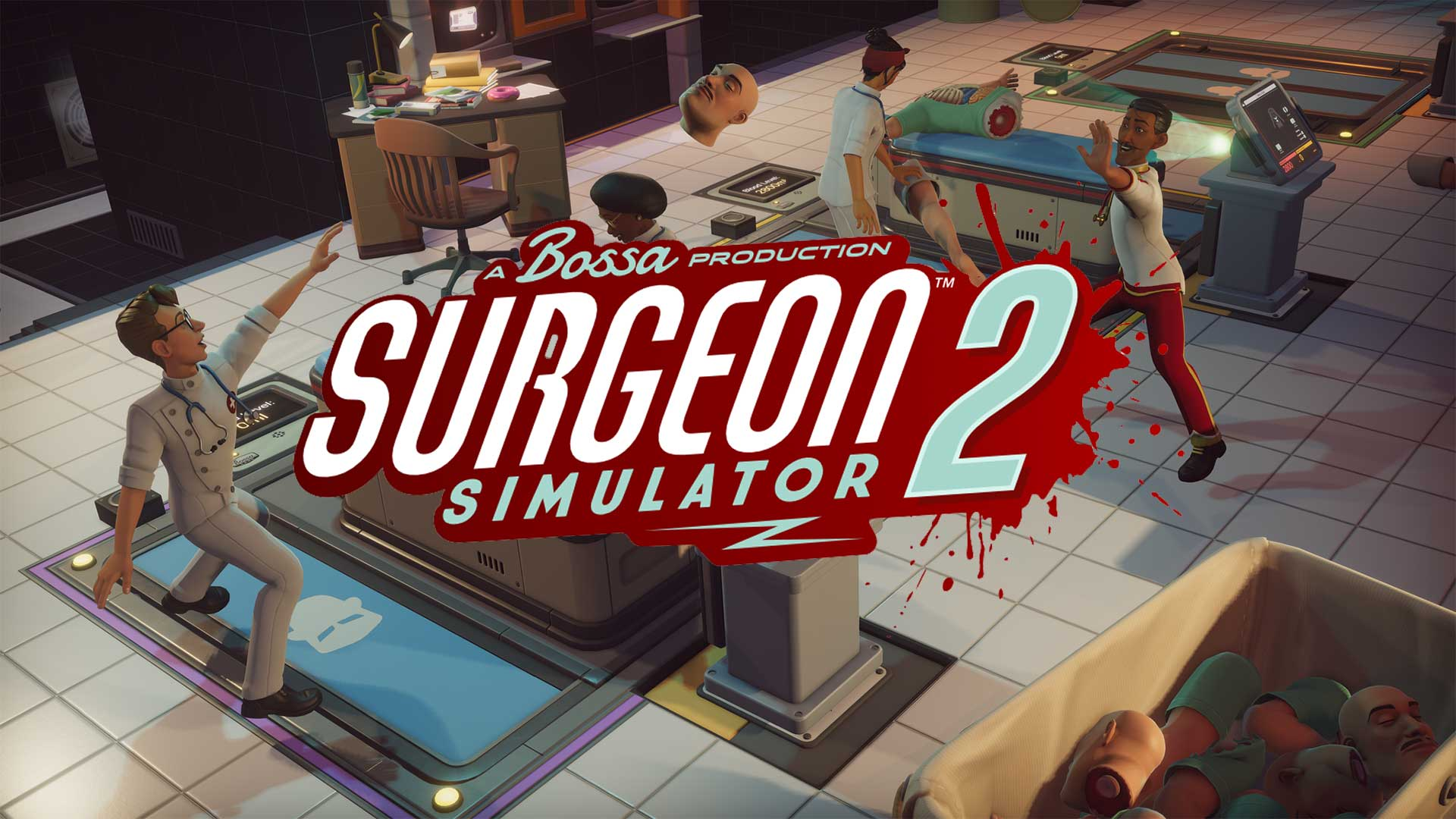 surgeon simulator 2 cover 2nd