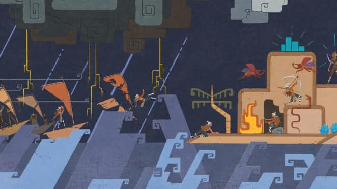 Wandmalerei der Windbound-Story. Quelle: Deep Silver