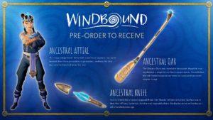 windbound preorder boni
