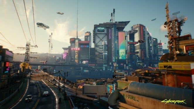 Cyberpunk2077 Love this town RGB en