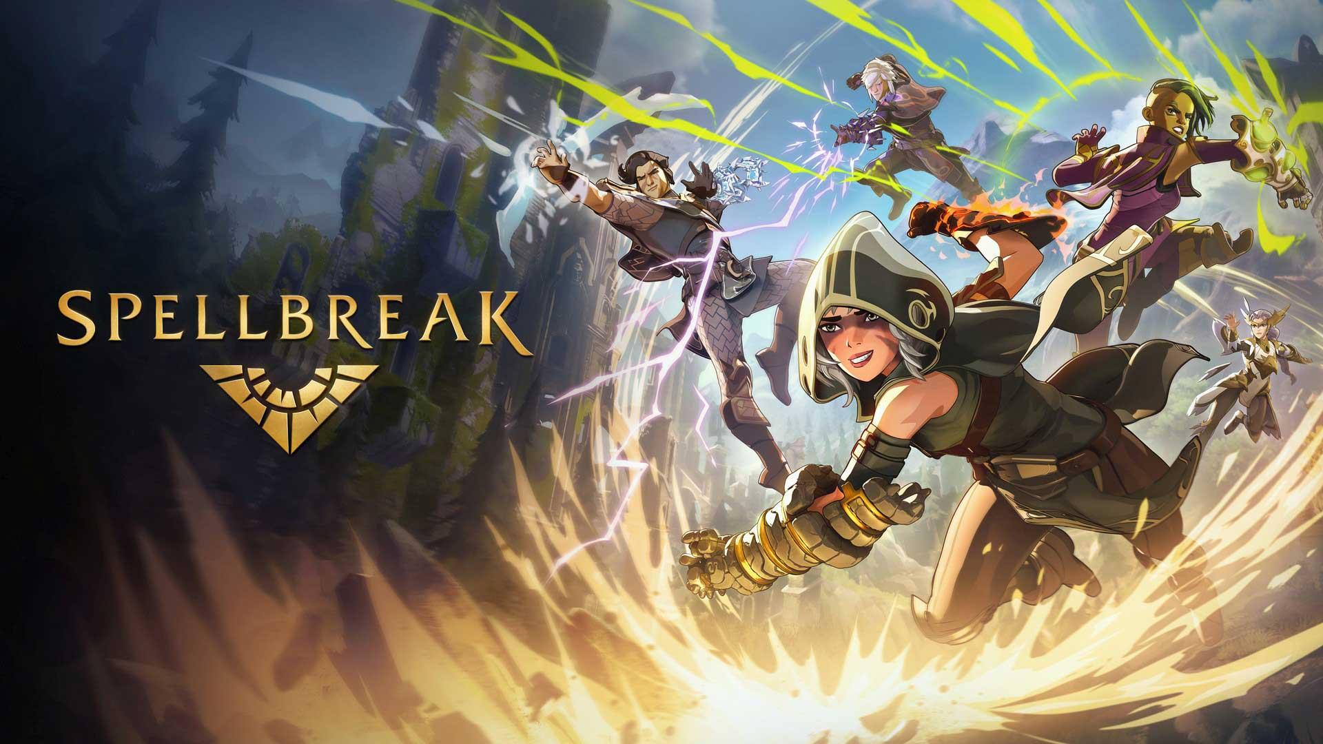 Spellbreak KeyArt Logo babt