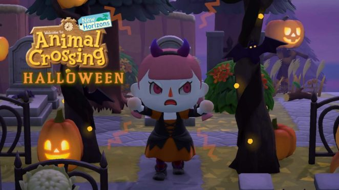 acnh halloween update