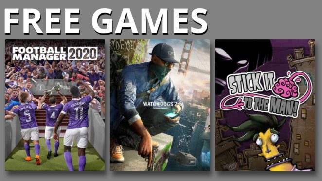 epic free games watch dogs football manager