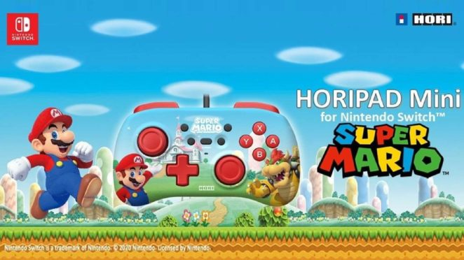 hori horipad mini switch teaser