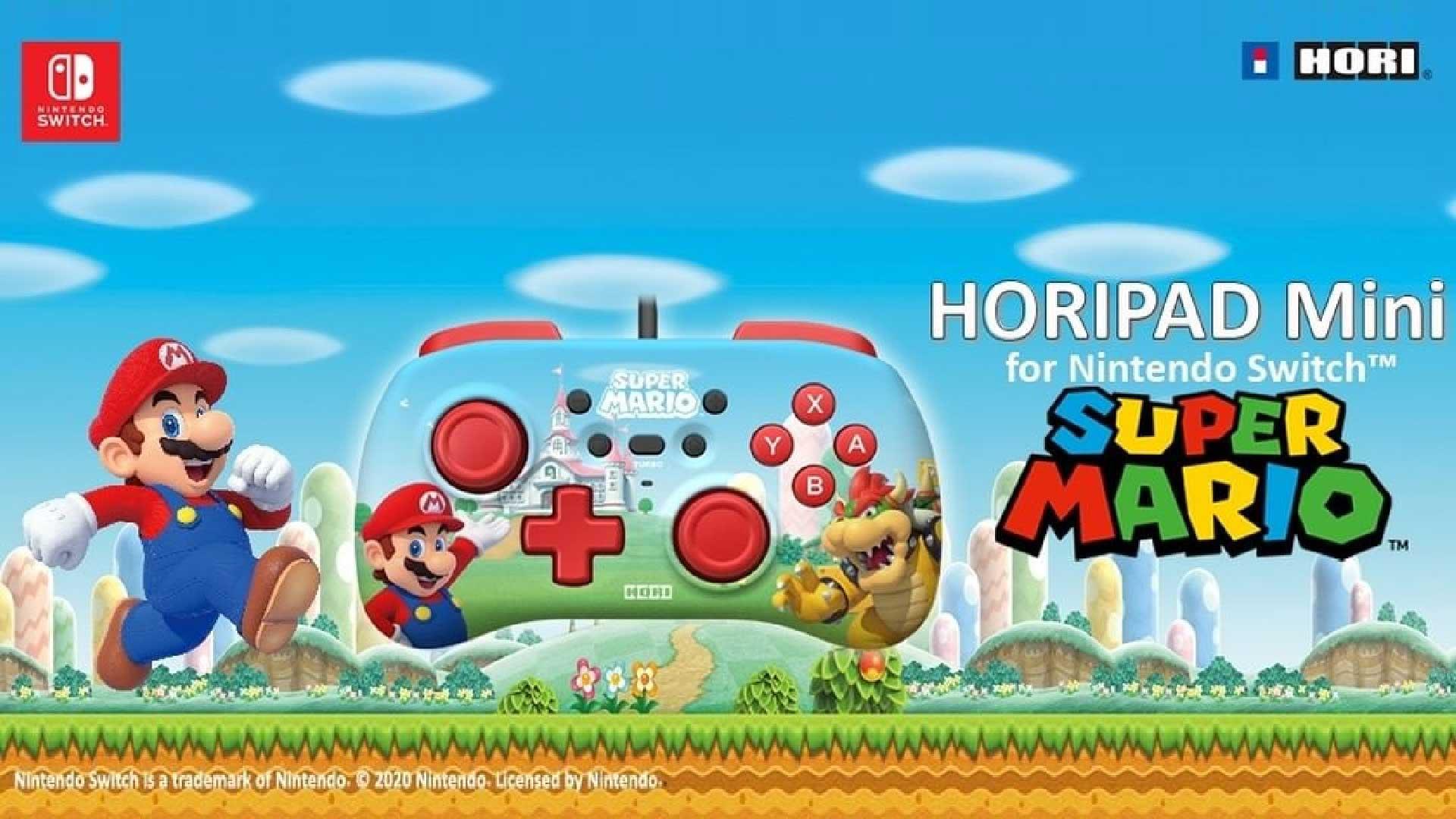hori horipad mini switch teaser