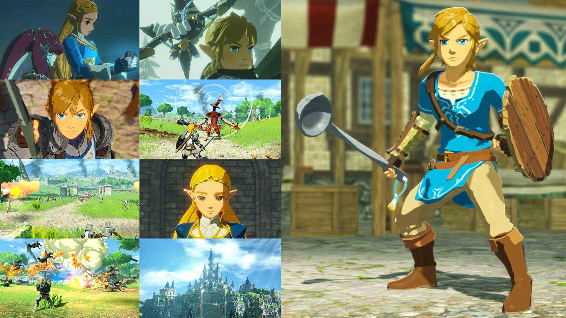hyrule warriors gameplay screenshots