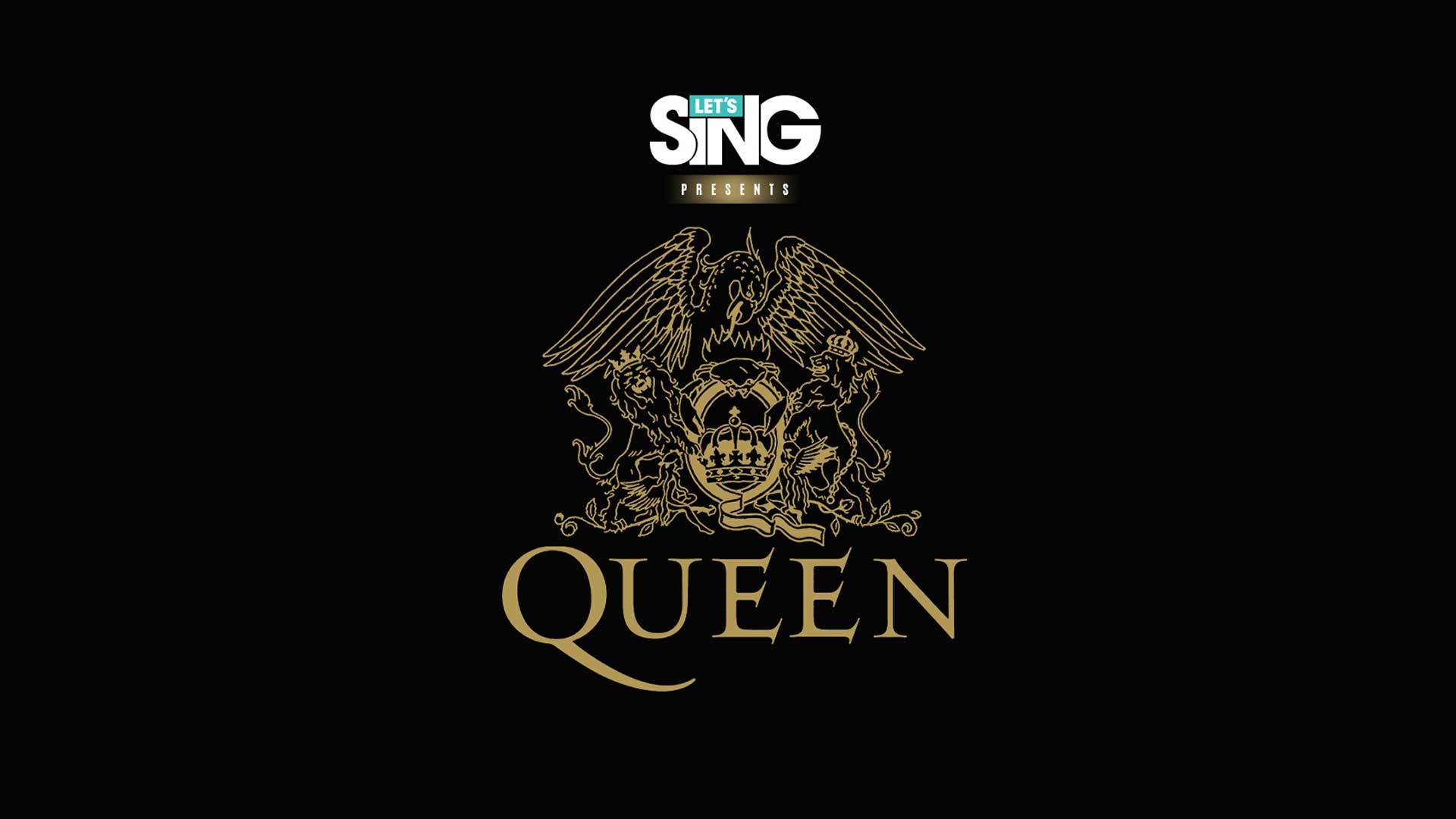 lets sing queen edition logo black
