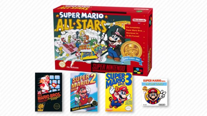 super mario all stars snes retro