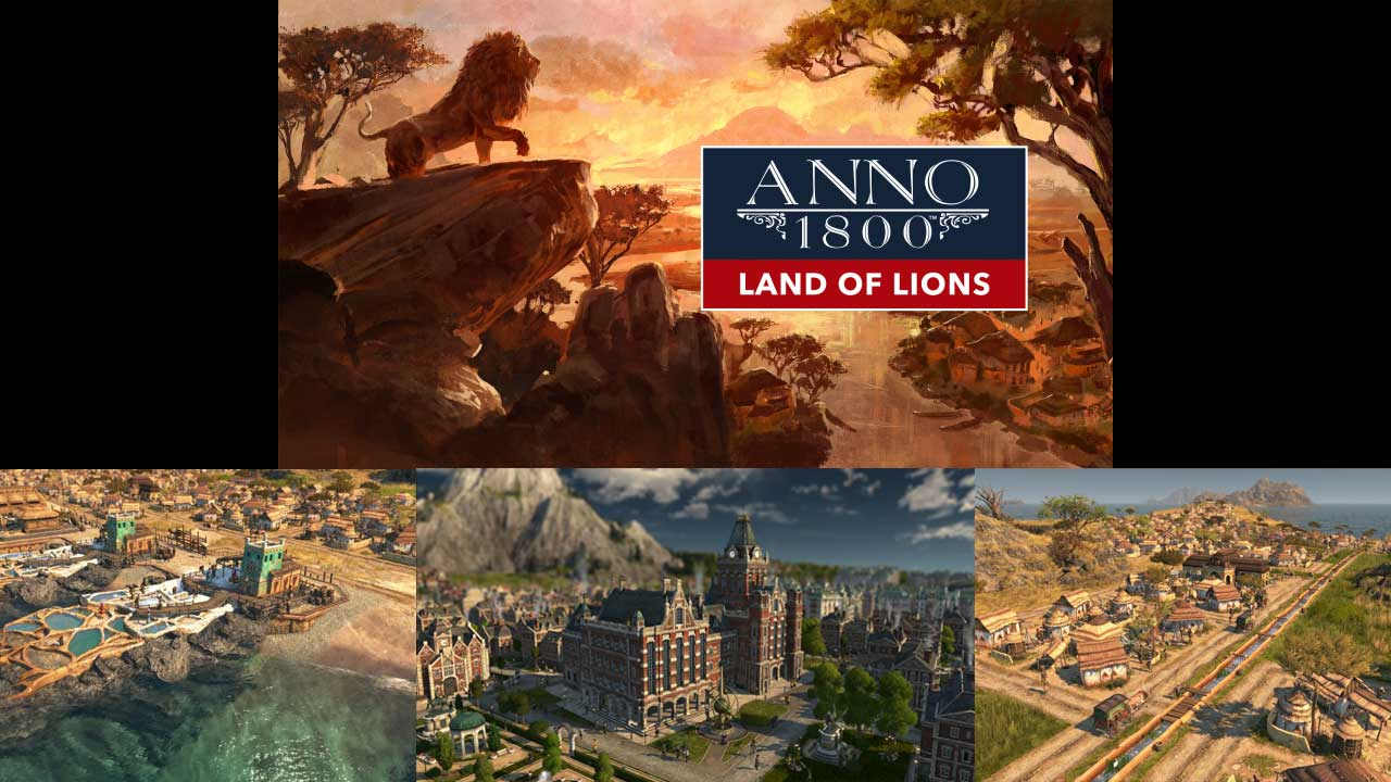 Anno1800 Land of Lions KeyartLogo 768x432 babt
