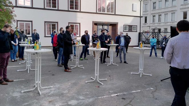 Eroeffnung Vereinsheim eSports Nord 1 babt