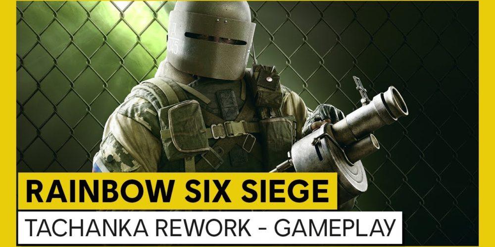 Tom Clancys Rainbow Six Siege Tachanka Rework Gameplay Trailer