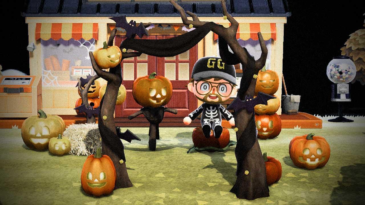 acnh halloween