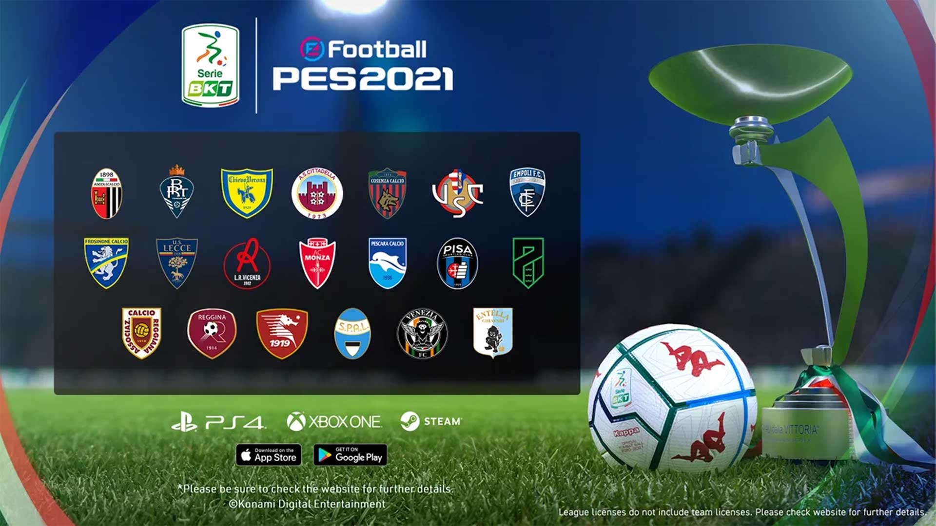 efootball pes2021 2 liga serie BTK