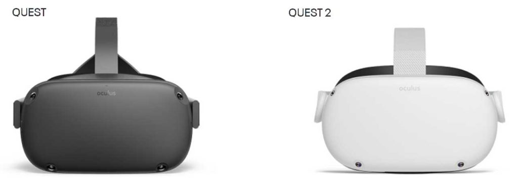 oculus quest1 vs quest 2