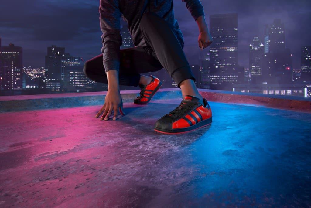Quellen: adidas / Marvel / Sony