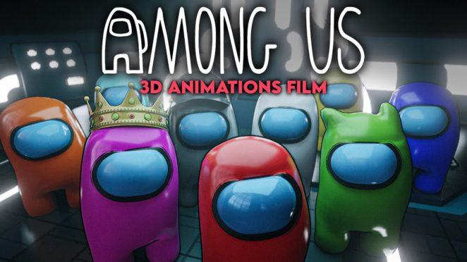 AMONG US 3D Film mit Unge KnossiTrymacsJulien BamPapaplatteRevedRewinside UnsympathischTV